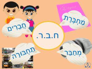 """Почему у слов """"тетрадь"""" и """"друг"""" на иврите один корень? Учить иврит интересно"""