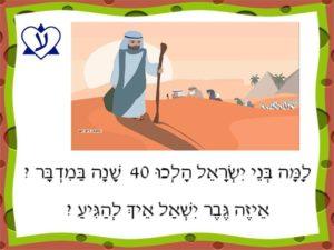 Иврит с шутками. Сорок лет в пустыне