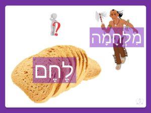Изучаем тонкости языка иврит. Однокоренные слова